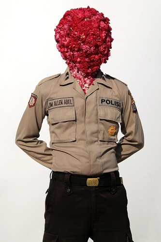<b>Indonesia Uniform - Polisi </b><br/>lambda photographic paper on aluminium dibond<br/><br/>150 x 100 cm<br/>2011<br/>edition of 3