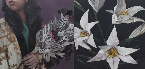 <b>Remains the Same</b><br/>oil on canvas<br/><br/>91 x 183 cm<br/>2016<br/>diptych