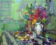 <b>Beautiful Bouquet</b><br/>oil on canvas<br/><br/>100 x 125 cm<br/>2004<br/>
