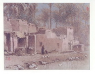 <b>Cairo 2 </b><br/>Pastel on Paper<br/><br/>48 x 62 cm <br/>1978 <br/>