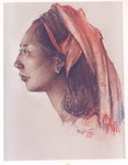 <b>Model from Bali </b><br/>Pastel on Paper<br/><br/>52 x 40 cm <br/><br/>