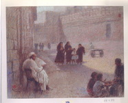 <b>Cairo 1 </b><br/>Pastel on paper<br/><br/>44 x 56 cm <br/>1978 <br/>